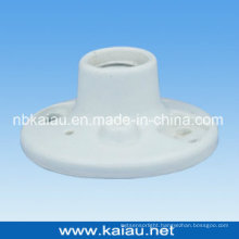 Porcelain Lamp Holder (E27F507W-2)