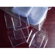 Custom Clear Plastic Transparent Coin Storage Box/Case/Bag/Envelope/Flip/Pocket with/Without Logo Printing