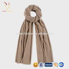 Cachemire Fashion tricot écharpe de couleur unie