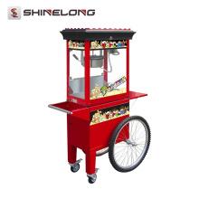 Hot Sale Máquina de pipoca elétrica luxuosa com carrinho