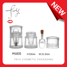 Transparent Cosmetic Containers With Brush Shadow Box Wholesale
