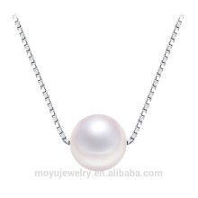 925 Silber Anhänger Halskette Perle Anhänger