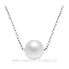 925 silver pendant necklace pearl pendant