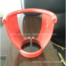 Red Steel Valve Guard for C2h2 Gas Cylinders