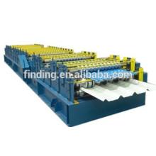 panel de pared/techo de doble capa del rodillo que forma la máquina