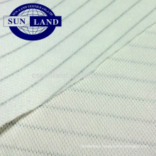 100% polyester antistatic double pique mesh fabric for workwear