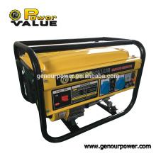 Power Value Taizhou 2000w 2kw fio de cobre imitativo GX160 Gerador de gasolina