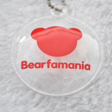 Inflatable Down Feather Label for Kids Winter Clothing Hang Tag