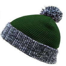 Double Thickness Knitted Beanie Hat