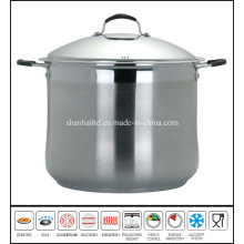 Big Deep Stockpot Stainless Steel Pot