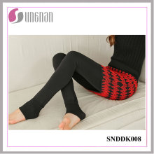 2015 Latest Warm Fake Two-Piece Culottes Thicken Fleece Foot Leggings