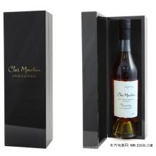 Trade Assurance Supplier Atacado Fashion Paper Packaging Wine Box, Flip Top Caixa de vinho de papel
