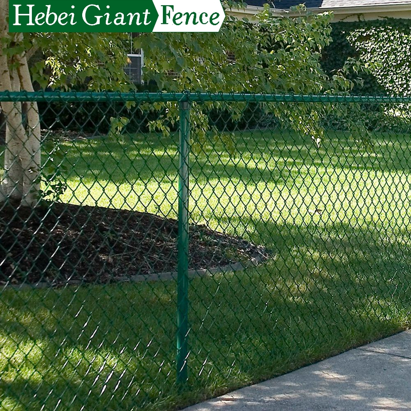 High Quality Galvanized Chain Link Fence for Sale