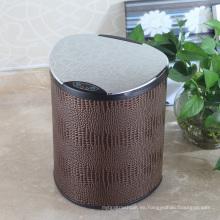 Cubo de basura europeo del sensor de Aotomatic del estilo de la PU para el hogar / la oficina / el hotel (E-9LC)