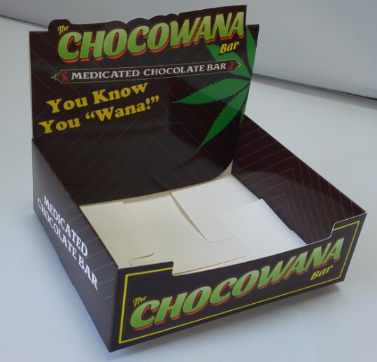 chocolate bar display box