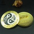 Золотой Поставщик Фабрики Оптовая Значок Эмали Металла Булавкой Кнопку