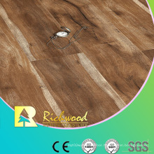 Commercial 12.3mm E1 Embossed Hand Scraped U-Grooved Laminate Flooring