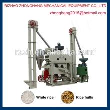 MINI mini máquina de molino de arroz automática completa
