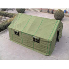 Civilian and relief tents