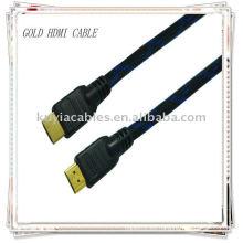 Cable HDMI MM de alto rendimiento para vídeo estándar, mejorado y de alta definición