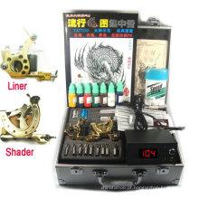 kit de tatuagem profissional de duas armas