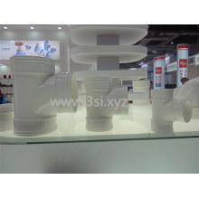 PVC Kunststoff Rohr Entwässerung gleich Tee passend