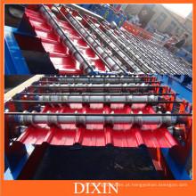 Máquina formadora de rolos de folha trapezoidal Dx