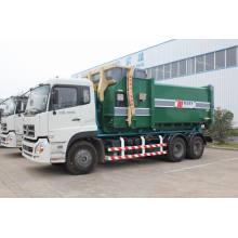 Dongfeng destacável de caminhão de lixo do recipiente (HJG5251ZXX) 6 X 4 13,4 tonelada