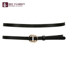 HEC China Produkte Preise Classic Black Slim Gürtel für Frauen