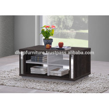 Wooden Coffee Table with shelf