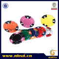 14G 3-Tone Crown Dice Clay Poker Chip (SY-E06)