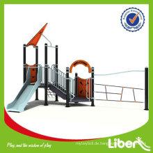 Beliebte Plastik Kinder Outdoor Spielplatz Spielzeug LE-XD001