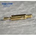 Mola Carregado Pogo Pin de bronze para DIP com diâmetro 0.9