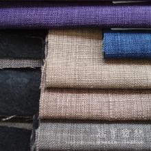 Tela de tapicería textil de poliéster lino Gata casa de estilo