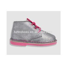 Детская обувь оптовый славный ботинок для девушок напольные ботинки