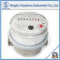 Compteur d'eau à jet sec simple avec corps en laiton de 80 mm de longueur