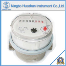 Compteur d'eau à jet simple / 80mm Type d'eau à eau sèche Compteur d'eau
