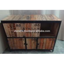 vintage industrial style sideboard