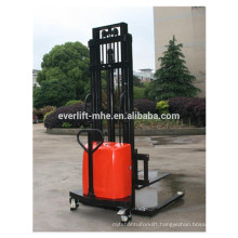 1000kg 1500kg 2000kg 1.6m 2m 3 m 3.5m adjustable fork semi electric stacker