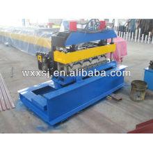 Hydraulic roof sheet bending machine