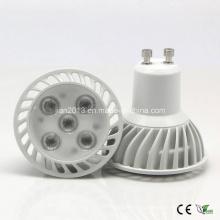 GU10 5 * 1W SMD2835 Proyector blanco caliente de 85-265V LED