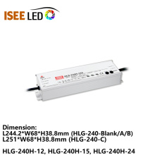 Transformateur imperméable d'éclairage de paysage d'approvisionnement d'énergie de MW