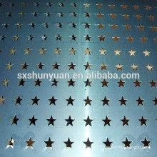 Shunyuan high quality perforated metal sheet