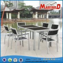Современные композитные Polywood столовая мебель