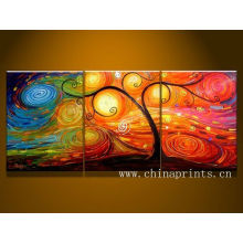 Canvas Photo Split,Hand made paintings for wall decor