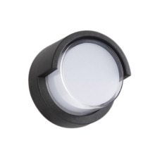 Circular Down 12W Outdoor Wall Light