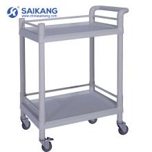 SKR001 Hospital ABS Clinical Treatment Trolley Supplier