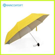 Paraguas plegable de bolsillo de bolsillo promocional Rum-086