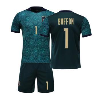 Conjunto de camisa de futebol de homem de futebol da Itália