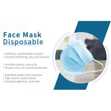 Medicamentos descartáveis para máscara facial